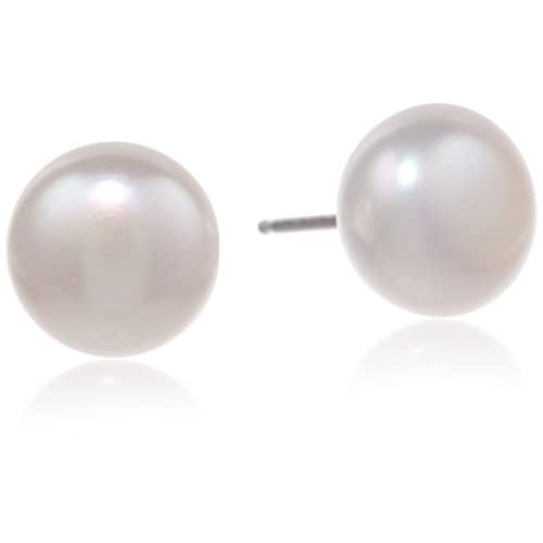 Honora Classic Pearl Jewelry Freshwater Cultured Pearl Stud Earrings