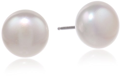 Honora Classic Pearl Jewelry Freshwater Cultured Pearl Stud Earrings - Honora Pearl Ring