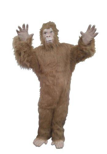 RG Costumes Men's Plus-Size Brown Gold Gorilla, Brown/Gold, -