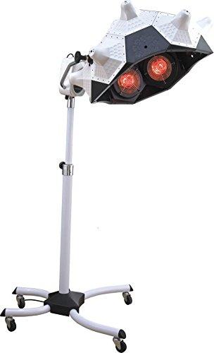 Secador de Pelo Calentador Peluqueria Salón Color Procesador Acelerador Infrarrojo Calefacción Laminación Base Con Ruedas por