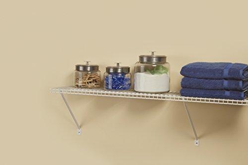 ClosetMaid 51031 Wire Shelf Kit, 3-Feet, White by ClosetMaid (Image #4)
