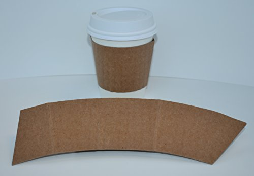 BriteVision 8 Oz. Insulating Hot Cup Coffee Sleeve, 1200 Ct., Fits 8 Oz. Cups