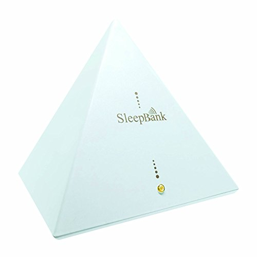 Sleep Frequency Machine by SleepBank - Patented Technology Chip (SFT) - Fall Asleep Faster - White