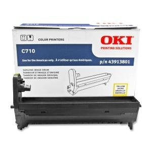 OKI43913801 - Oki Yellow Image Drum For C710 Series Printers