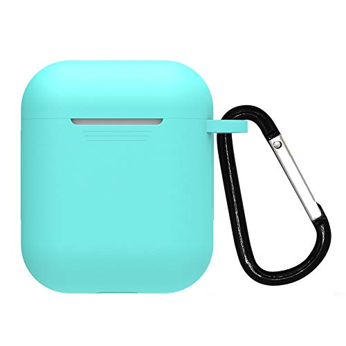 ( Orcbee  _for AirPods Silicone Case Cover Protective Skin for Apple Airpod Charging Case (D))