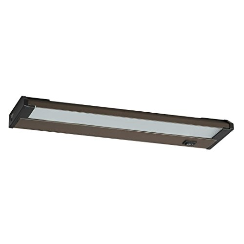 AFX Lighting NLL22RB Frosted Glass LED Undercabinet Light Fixture, Oil Rubbed Bronze by Lighting by AFX