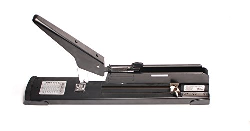 - Heavy Duty Stapler, Desktop Stapler Remover Dual Functions for Office or School, Compact, Low Force,Heavy Duty Desk Staplers 200 Sheets (18IN, Black 2)