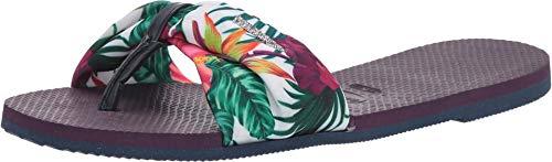 Havaianas Women's You Saint Tropez Flip-Flop Sandal (37-38 M Bra, Aubergine)