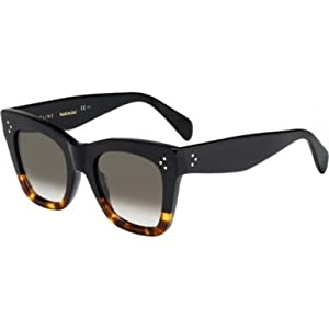 Celine Sunglasses CL 41090/S Sunglasses FU5Z3 Black Havana 50mm