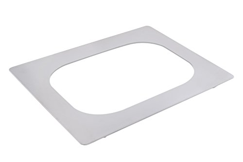 "Bon Chef 52094 EZ Fit Tile for 1 10 quart Cucina Rotisserie Pan, 20-13/16"" Length x 19-1/8"" Width"
