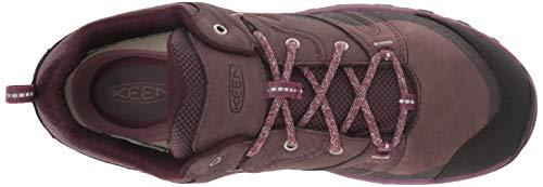 KEEN Women's Wine Peppercorn Boot Leather Terradora Waterproof Hiking Tasting rrd6awx