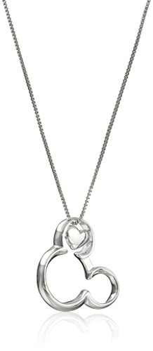 Disney Sterling Silver Pendant Necklace