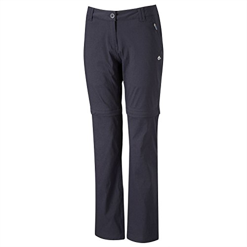 Womens Kiwi Prostretch Convertible Trousers by Craghoppers