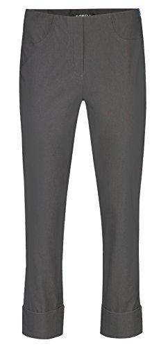 Robell Pantaloni Anthrazit Straight 97 Donna r1rqzdYv