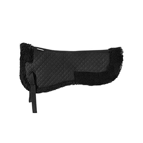 Horze Fur Half Pad - Black - Full