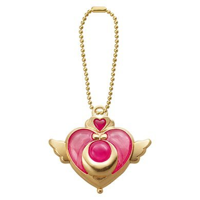 Bandai Sailor Moon Die Cast Charm Swing~Crisis Moon Compact