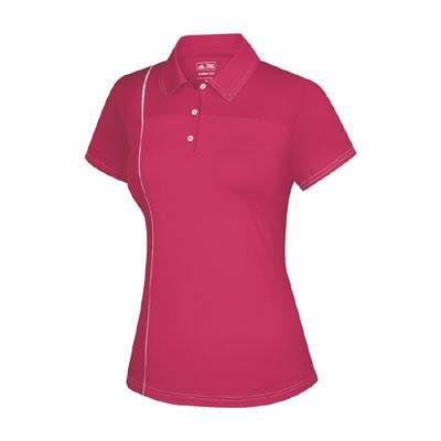 Adidas Taylormade Womens Climacool Mesh Block Button Polo Shirt (XS (0) 8f48fd5c80