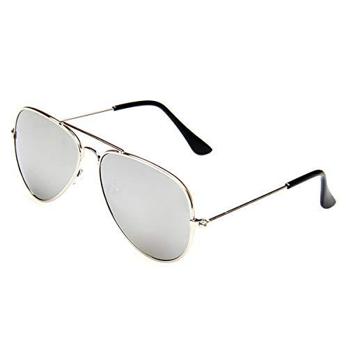 Creamily Kids Aviator Sunglasses UV Protection Glasses Mirrored Lens Eyewear Age 2-9 Boys Girls Outdoor Daily Wear Eyeglasses (Kids Sunglasses Mirror)