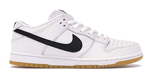 Nike SB Dunk Low Pro ISO White/Black-White-Gum 11