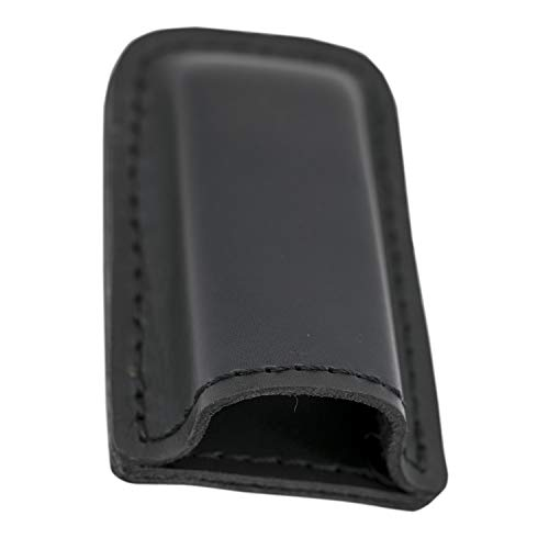 MAYMOC Tactical Leather Magazine Holder Sizes to fit virtually Any 9mm .40 .45 or .380 Pistol Mag Single or Double Stack IWB or OWB