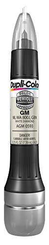 Dupli-Color AGM0593 All-In-1 White Diamond Scratch Fix Touch-Up Paint Tool (98) (Silverado Diamond Chevy)