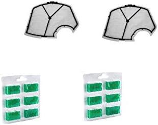 Kit 2 Filtro/Rejilla Motor + 12 Ambientadores para aspirador ...