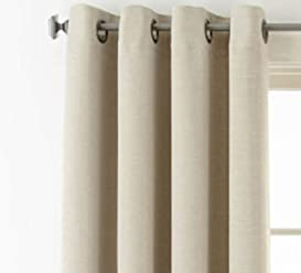 Royal Velvet Studio Wallace Blackout Grommet-Top Curtain Panel 50
