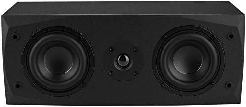 "Dayton Audio MK442 Dual 4"" 2-Way Center Channel Speaker"
