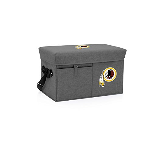 (NFL Washington Redskins Ottoman Insulated Collapsible Cooler/Picnic Tote)
