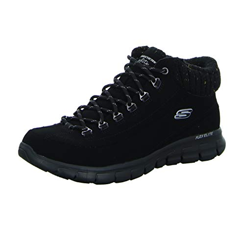 Femme Baskets Sportives Skechers Nero Winter SKEES Synergy Nights aYgOq