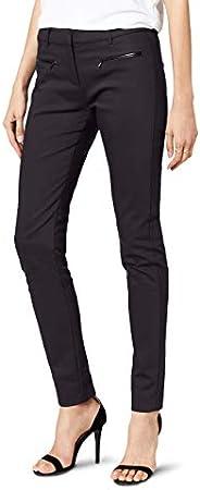 Pantalones para mujer,Con una etiqueta metálica con el logo de Tommy Hilfiger en el bolsillo trasero
