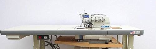 Juki Industrial 4-Thread Overlock Sewing Machine, K.D table & Servo Motor with REX LED sewing light DIY
