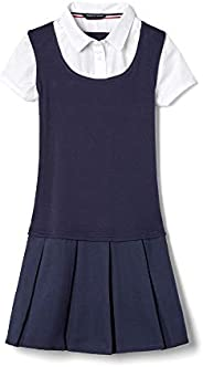 French Toast Big Girls' Twofer Pleated D