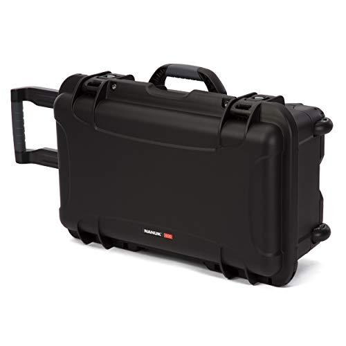Nanuk 935 Waterproof Carry-On Hard Case with Wheels and Foam Insert - Black by Nanuk (Image #1)