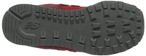 New red Enfant Gc574v1g Rouge Baskets Mixte Balance black fKCYqfwr