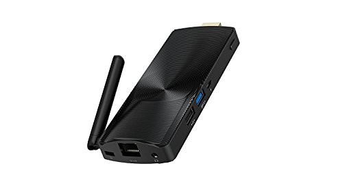 Azulle Access Plus Windows 10 Pro Fanless Mini PC Stick, Cherry Trail T3 Z8300, 4GB RAM+32GB