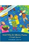Social Welfare Policy 9780072845822