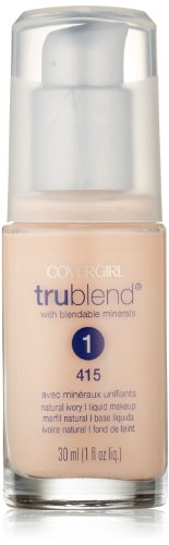 (CoverGirl Trublend Liquid Make Up Natural Ivory 415, 1.0-Ounce Bottle)
