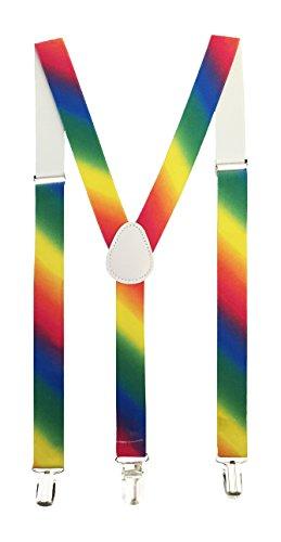 Hipster Somewhere Over The Rainbow Suspenders (Suspenders Rainbow)