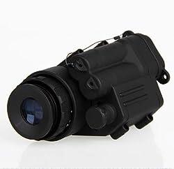 Wolfgo Night Vision Monocular -Waterproof Infrared IR Monocular Night Vision Telescope Device for Helmet