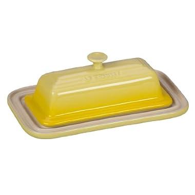 Le Creuset Stoneware Butter Dish, Soleil