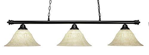 (Toltec Lighting 1873BK Round - 54