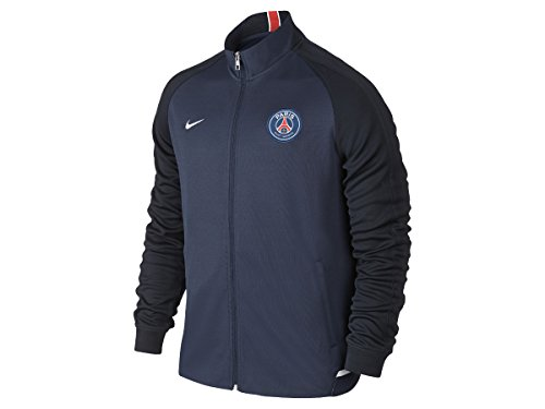 Nike 2015/16 Mens Paris-Saint Germain N98 Authentic Jacket [MIDNIGHT NAVY] – DiZiSports Store