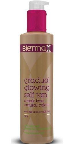 Sienna X - Gradual Glowing Self Tan 200ml - Tan by Sienna X