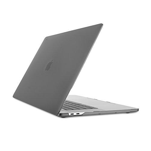 Moshi 99MO071006 iGlaze Hard Case for 2018 New MacBook Pro Retina 15 & Thunderbolt 3 with Touch Bar, Stealth Black