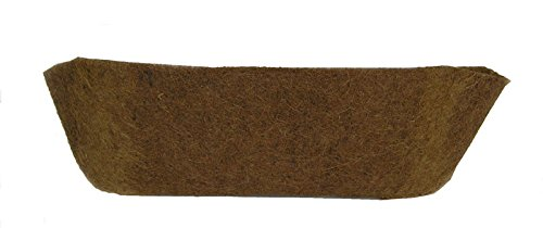 36'' Long Molded Coco Fiber Replacement Liner for window hayracks by Garden Artisans
