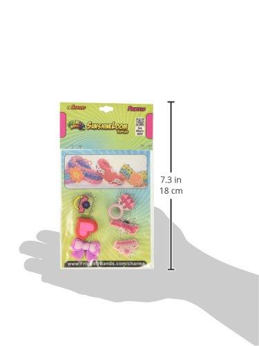 Toys fbCharms-Princess FriendlyBands Sunshine Charms Pack 6 Pack Princess Optimum Fulfillment