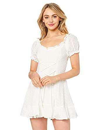 Lioness Women's The Goldie Dress, White, X-Small