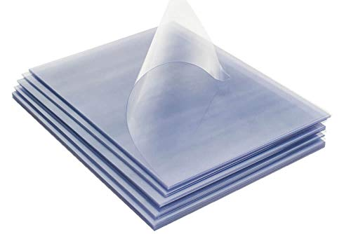 - TruBind - PVC Clear Binding Covers PVC Binding Covers - Variety of Sizes and Thickness - Binding Covers for Business Reports and Proposals - 100 Individual Sheets - 3.5 Pounds