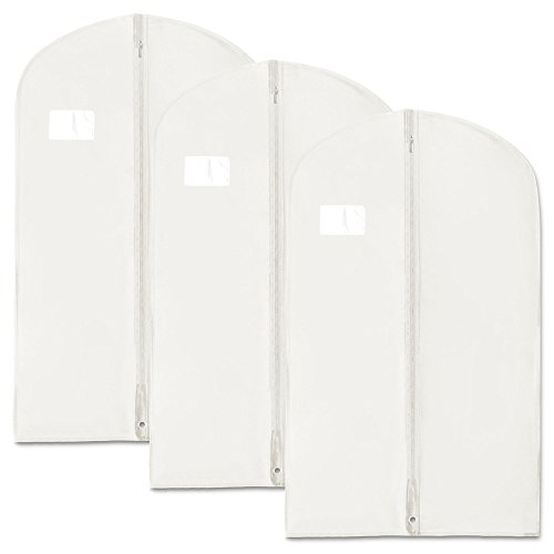 garment bags white - 1